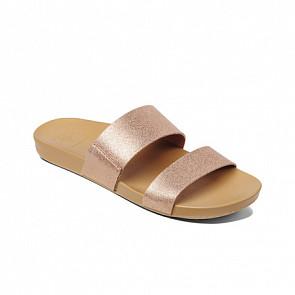 Reef Women's Cushion Bounce Vista Sandals - Rose Gold