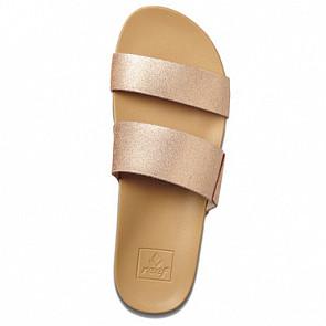 Reef Women's Cushion Bounce Vista Sandals - Rose Gold - Top