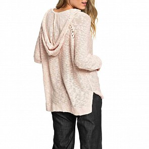 Roxy Women's Airport Vibes Hooded Sweater - Cloud Pink
