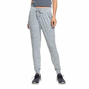 Roxy Women's Just Yesterday Jogger Pants - Blue Mirage Heather