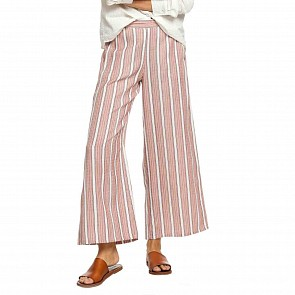 Roxy Women's Midnight Ave Pants - American Beauty Multistripes