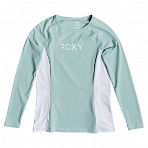 Roxy Women's On My Board Long Sleeve Rash Guard - Aquifer