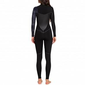 Roxy Women's Syncro Plus 4/3 Chest Zip Wetsuit