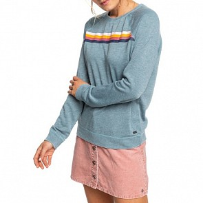 Roxy Women's Wishing Away Sweatshirt - Trooper
