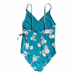 Roxy Youth Girl's Magical One-Piece Swimsuit - Brittany Blue