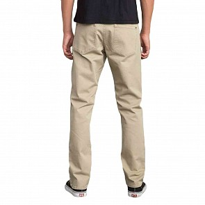 RVCA Daggers Twill Pants - Wood