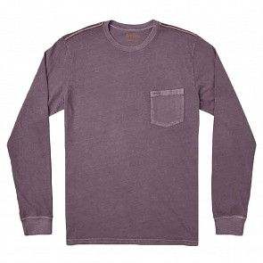 RVCA PTC Pigment Long Sleeve T-Shirt - Dark Violet