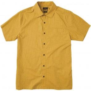 RVCA E Dot Short Sleeve Shirt - Goldie
