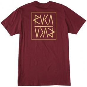 RVCA Flip RVCA T-Shirt - Tawny Port