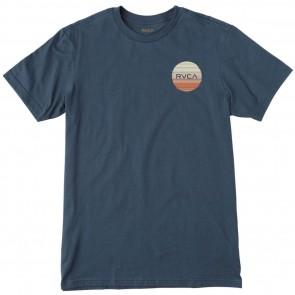 RVCA Glitch Motors T-Shirt - Federal Blue