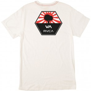 RVCA Bruce Irons T-Shirt - Antique White