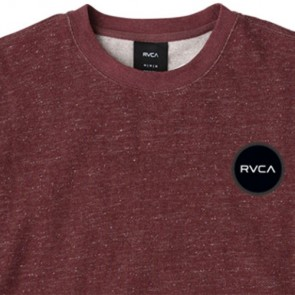 RVCA Motors Speckle Sweatshirt - Tawny Port