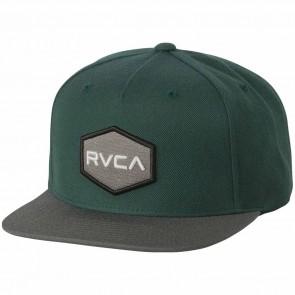 RVCA Commonwealth II Hat - Deep Teal