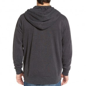 RVCA Mechanics Zip Hoodie - Charcoal Heather
