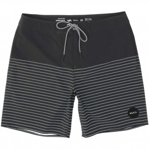 RVCA Curren Trunk Boardshorts - Pirate Black