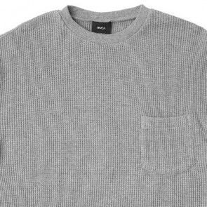 RVCA Shibuya Crew Knit Thermal - Athletic Heather