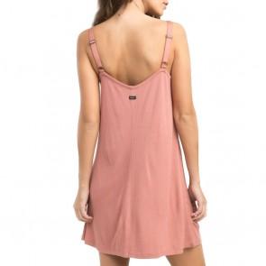 RVCA Women's Switchback Dress - Mahogany