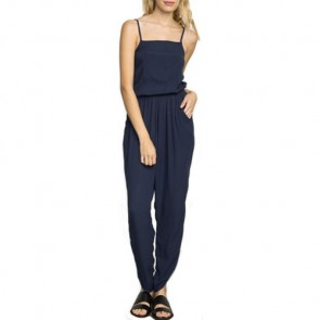 RVCA Women's Tracter Jumpsuit - Federal Blue