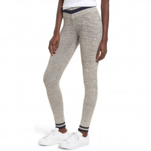 RVCA Women's Loomed Knit Leggings - Heather Grey