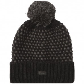 RVCA Women's Get Down Beanie - Black