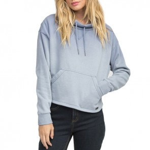 RVCA Women's Smudged Cropped Pullover - Stone