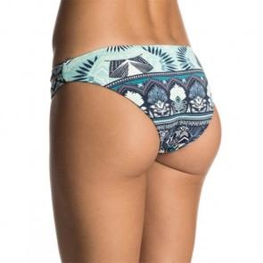 Roxy Women's Strappy Love Crop Two-Piece Swimsuit - Dress Blue Hippie