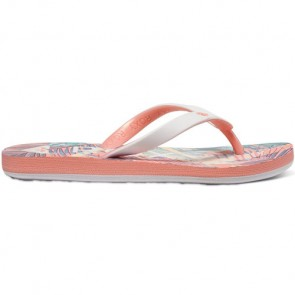 Roxy Youth Girls Tahiti Sandals - Peach Parfait/Sea