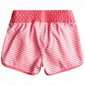 Roxy Youth Girls Doll Face Loosen Up Boardshorts - Pink Stripe