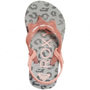 Roxy Youth Fifi Flip Flops - Grey Heather
