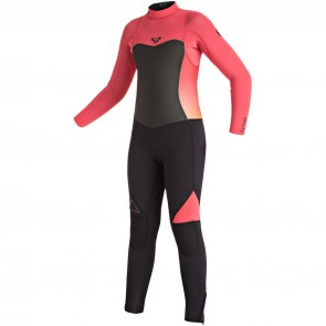 Roxy Youth Girls Syncro 3/2 Wetsuit - Paradise Pink