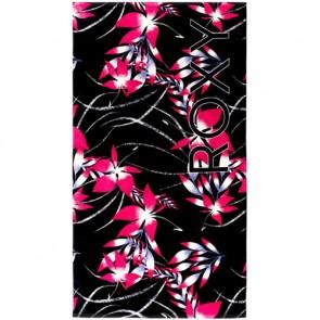Roxy Hazy Beach Towel - Black Mistery Floral