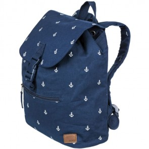 Roxy Women's Sweetest Little Face Backpack - Dress Blue Printed Anchor