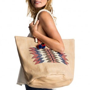 Roxy Women's Sun Seeker Tote Bag - Natural