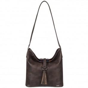 Roxy Women's Latest Chill Shoulder Bag - Dark Brown