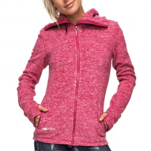 Roxy Women's Suuvra Florida Zip-Up Hoodie - Red Bud