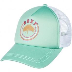 Roxy Women's Truckin Trucker Hat - Wasabi