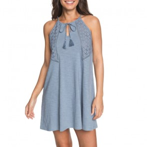 Roxy Women's Enchanted Island Tank Dress - Blue Shadow