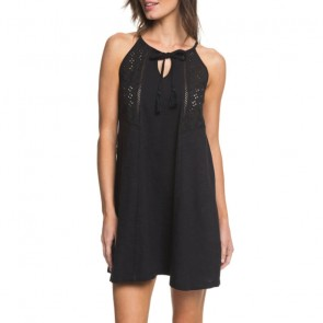 Roxy Women's Enchanted Island Tank Dress - Anthracite