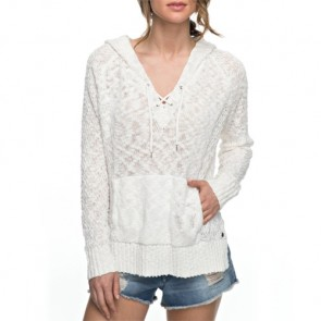 Roxy Women's Smooth and Sassy Hooded Sweater - Marshmellow