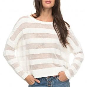 Roxy Women's Positive Mind Sweater - Marshmellow