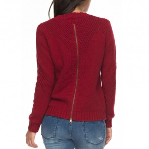 Roxy Women's Take Over The World Sweater - Rio Red