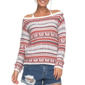 Roxy Women's Cold Is Coming Sweater -Dusty Cedar