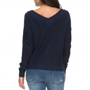 Roxy Women's Choose To Shine Sweater - Dress Blues