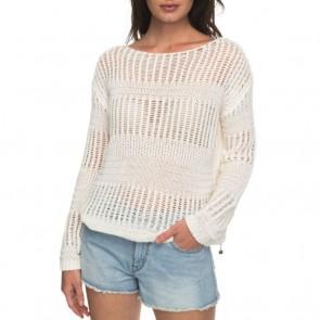 Roxy Women's Blush Seaview Sweater - Marshmallow