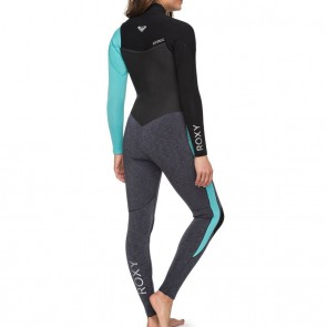 Roxy Women's Performance 3/2 Chest Zip Wetsuit