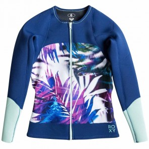 Roxy Women's Caribbean Sunset Jacket - Sea Salt Jungle