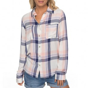 Roxy Women's Setai Miami Long Sleeve Shirt - Marshmellow Miami