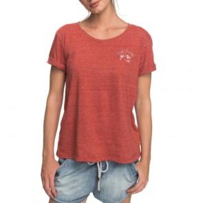 Roxy Women's Wild Alcyons T-Shirt - Tandoori Spice