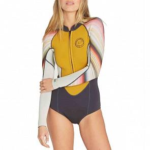 Billabong Women's Salty Days 2mm Long Sleeve Spring Wetsuit - Serape