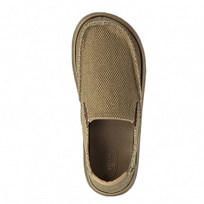 Sanuk Vagabonded Shoes - Military Olive
